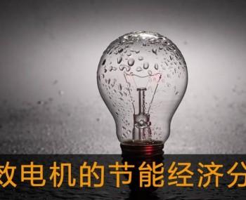 高效电机的节能经济分析及应用