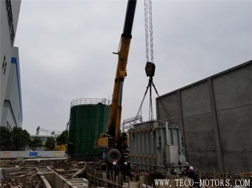 【电厂】华电芜湖二期工程3号机组高厂变顺利就位 行业资讯