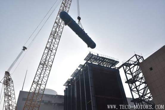 【电厂】洛阳万众项目部2号余热锅炉高、中、低压汽包顺利吊装完成 行业资讯 第1张