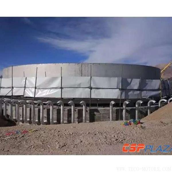 【电厂】中控太阳能德令哈50MW塔式熔盐光热发电项目正式复工 行业资讯 第4张