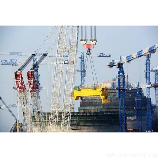 【电厂】华龙一号示范工程福清核电6号机组环吊主梁吊装就位 行业资讯 第1张