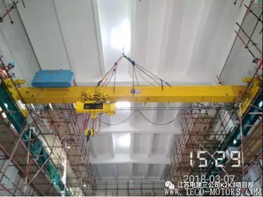 【电厂】卡拉奇核电K2/K3机组132KV升压站行车顺利就位 行业资讯