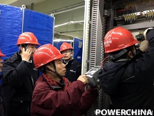 【电厂】华润电力曹妃甸有限公司二期工程4号机组DCS集散控制系统)受电一次成功 行业资讯