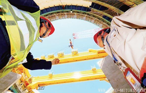 【电厂】福清核电6号机组环吊主梁成功吊装 行业资讯