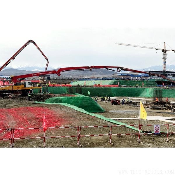 【电厂】大唐吉木萨尔热电联产一期2×350MW工程第一灌混凝土正式浇筑 行业资讯