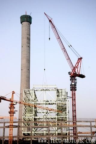 【电厂】宁夏天元热电联产有限公司2×350MW自备热电厂工程2号机组锅炉大板梁顺利开始吊装 行业资讯 第1张