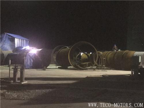 【电厂】越南海阳:昼夜轮班 加速推进现场施工 行业资讯