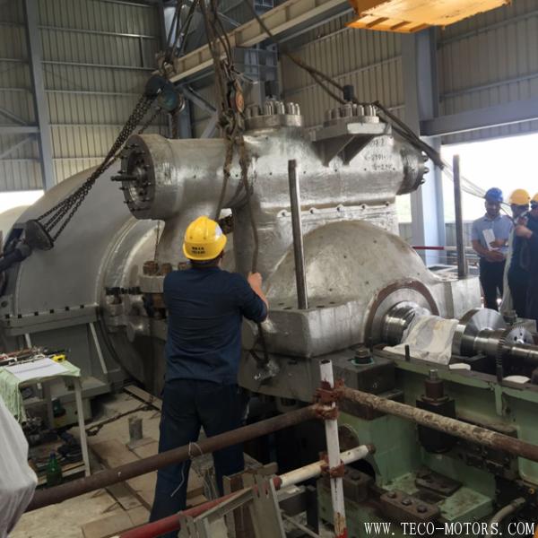【电厂】巴基斯坦项目2号机组汽轮机扣盖圆满完成 行业资讯