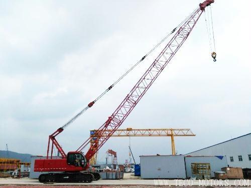 【电厂】越南海阳2×600MW燃煤电厂工程SCC500D履带式起重机安装完成 行业资讯