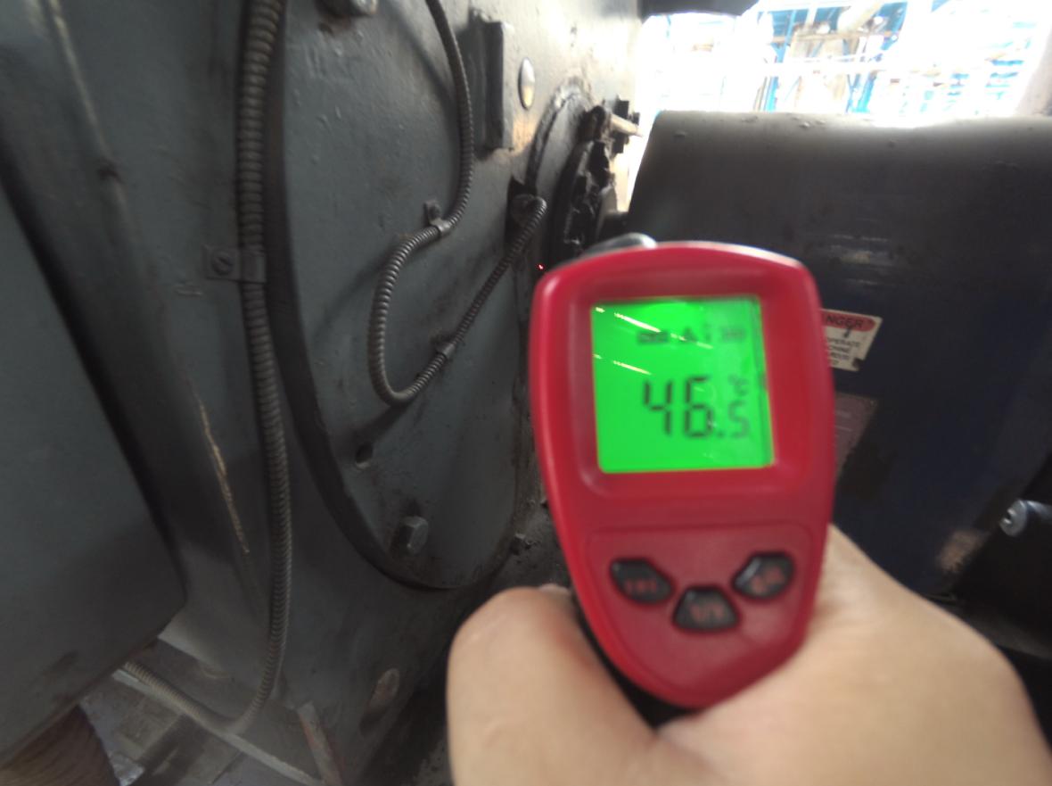 东元08年出厂大功率电机维修保养 业绩案例 第3张